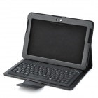 Protective Case w/ Wireless Bluetooth V2.0 / 3.0 77-key Keyboard for Samsung 7500 + More - Black