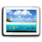 "CUBE U23GT 8"" Capacitive TN Screen Android 4.1 Dual Core Tablet PC w/ 1GB RAM / 16GB ROM - White"