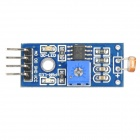Photo Resistor Sensor Module for DIY - Blue + Black