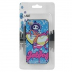 Cartoon Sprite Pattern Protective Plastic Back Case for Iphone 4 / 4S - Multicolor
