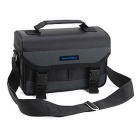 Protective PU Leather + Oxford Fabric Shoulder Bag for DSLR - Black (Size L)