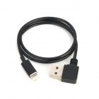 CY IP-245-BK 90 Degree Right Bend USB to 8-Pin Lightning Data / Charging Cable for iPhone 5 - Black