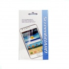 Protective Glossy Screen Guard + Mirror Sticker for Samsung Galaxy S4/i9500 - Transparent + Mirror