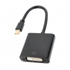 CY DP-049 Active Eyefinity Mini DP DispartPort to DVI Adapter Cable - Black