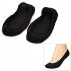 Cotton Low Cut Ankle Socks - Black (Pair)