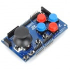 WXM12 Gaming Joystick Shield - Blue + Red + Black
