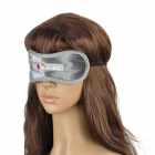Travelicons Comfortable Cotton Aroma Sleeping EyeShade Eyepatch - Grey + Black