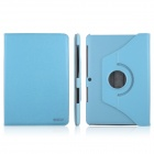 ENKAY 360 Degree Rotatable Protective PU Leather Case Cover for Samsung Galaxy Tab 2 P5100 - Blue