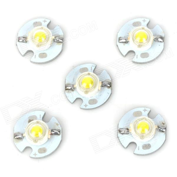 JR-16MM-W 1W 100lm 6300K 5-LED Cold White Light Lamp