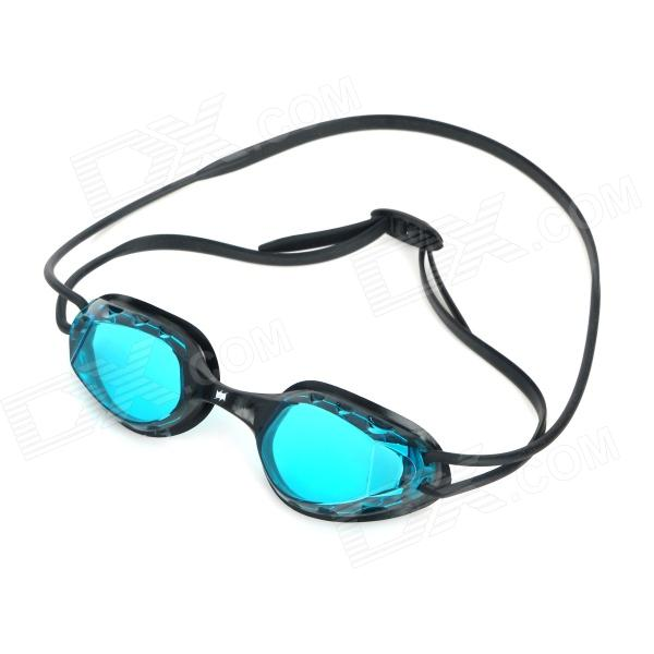 Winmax WMB07019 PC Lens UV Protection Swimming Goggles / Glasses - Blue + Black