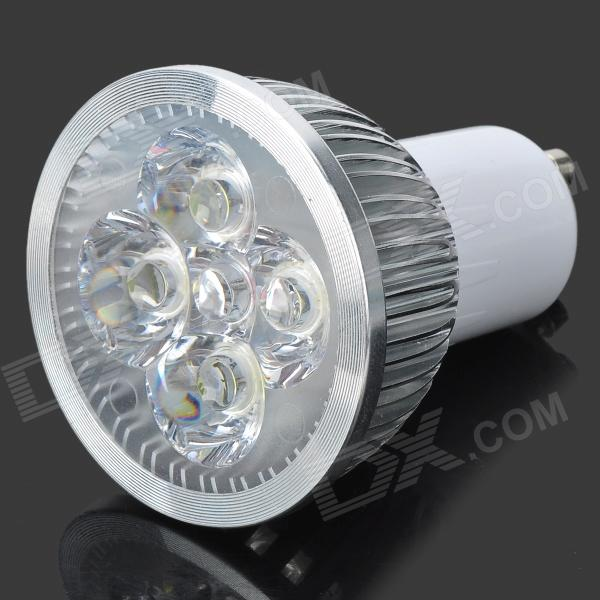 GU10 4W 264lm 6500K White Light LED Bulb - Silver (85~265V)