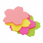 580-1 Blume Stil Memo Pad Note Paper - Yellow + Deep Pink + Green + Red + White