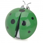 D13031501X Ladybug Style Car Outlet Perfume Air Fresher - Green (Cologne-Scent)