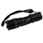 SingFire SF-701A CREE XR-E Q5 280lm 3-Mode White Zooming Flashlight (3 x AAA / 1 x 18650)