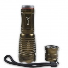 SingFire SF-705C 800lm 5-Mode White Zooming Flashlight w/ Cree XM-L T6 (3 x AAA / 1 x 18650)