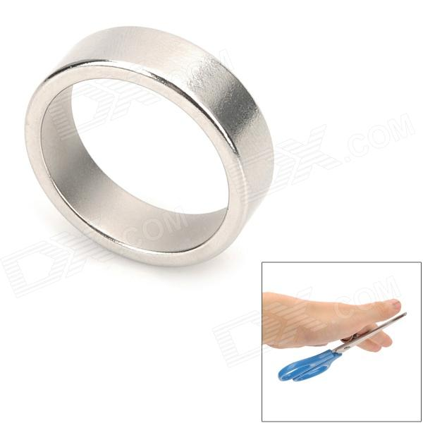 YSDX-717 Magnetic Finger Ring - Silver (2.4cm-Diameter)