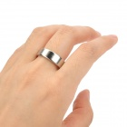 YSDX-717  Magic Trick Prop Magnetic Finger Ring - Silver (2.4cm-Diameter)