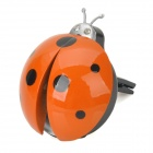 Seven-spotted Ladybugs Style Car Outlet Perfume Air Fresher - Orange (Ocean Scent)