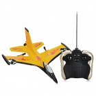 F16 4-CH Radio Control EPP Foam R/C Airplane Glider - Yellow