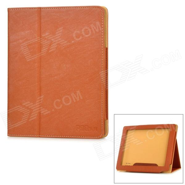 все цены на Stylish Protective PU Leather Case for TECLAST P98 - Brown