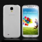 Protective TPU Back Case for Samsung Galaxy S4 i9500 - Transparent White