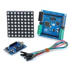 DIY 8 x 8 RGB LED Dot Matrix Colorduino Display Set - Blue