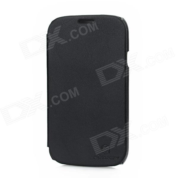 NILLKIN Protective Leather Case for Samsung I9082 - Black