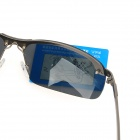 ReeDoon 3043 Men's Cool UV400 Protection Polarized Sunglasses for Police / Driver + More - Gun Metal