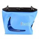 Tteoobl T-020C Universal 20m Waterproof Waist Bag for Digital Camera / Cell Phone - Blue
