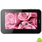 "I30 7"" Capacitive Screen Android 4.1 Tablet PC w/ 2 x SIM / TF / Wi-Fi / Camera - Black"