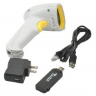 SMQXYL8033 Wireless Handheld Barcode Scanner Reader - Gris Amarillo +