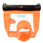 Ttoobl T-518L Protective PVC Waterproof Bag w/ Belt for M / L SRL Camera - Orange