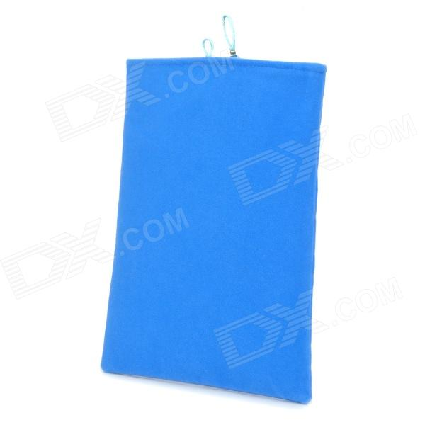 Protective Plush Pouch for Ipad MINI - Blue