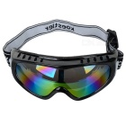 Stylish TR90 Frame + PC Lens UV Protection Skiing Glasses / Goggles - Black