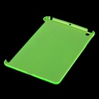 Protective Plastic Case Partner Back Case for Ipad MINI - Translucent Green
