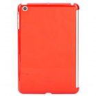 Protective Plastic Case Partner Back Case for Ipad MINI - Translucent Red