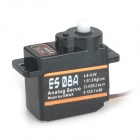 EMZX ES08A 8.5g High Sensitivity Mini Analog Servo - Black