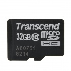 Transcend TS32GUSDHC10 MicroSDHC Memory Card - Black (32GB / Class 10)