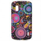 Protective Jellyfish Pattern Silicone Back Case for LG E960 Nexus 4 - Multicolored