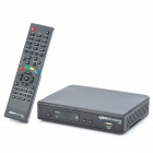 Azbox Bravissimo HDTV 1080p Dual Tuner IKS Digital Satellite Receiver w/ USB / HDMI / RS-232 - Black
