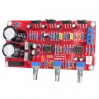 GZYJ1305 2 x 18W Left and Right Channels + 36W Super Bass Power Amplifier Module - Red + Black
