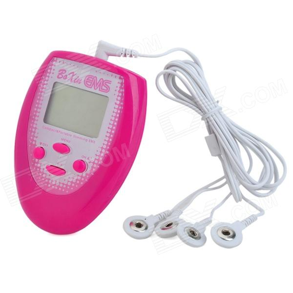 1.65 LCD Electrical Biological Conduction Face Slimmer Massager - Deep Pink (1 x CR2032) гель cosrx one step pimple clear kit 1 шт