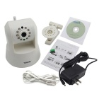 TENVIS IPROBOT3 H.264 1.0MP Wireless Surveillance IP Camera - White