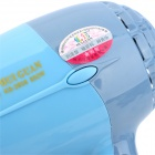 HUIGUAN KS-2858 Foldable Constant Hair Care Electric 2-Level Dryer w/ Adapter - Grey + Blue