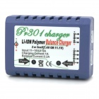 PR301 7.4V / 11.4V Li-Polymer Smart Balance Charger for R/C Helicopter - Blue + White