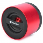 A60 Multi-Function 3W Wireless Bluetooth v2.1 Rechargeable USB Speaker w/ TF / FM Radio - Red