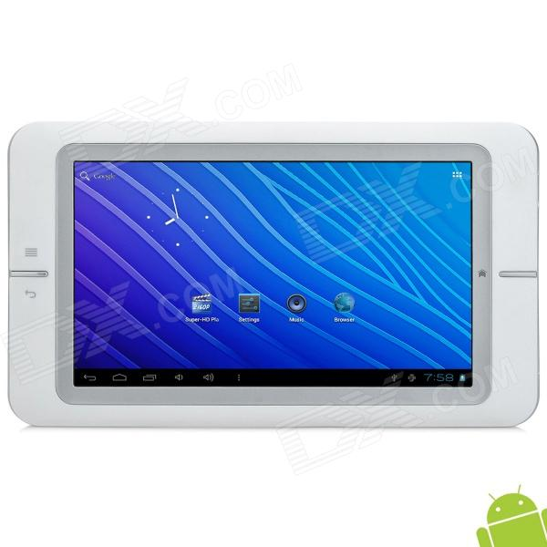 "COLORFLY CT701 7"" Capacitive Screen Android 4.0.4 Tablet PC w/ Wi-Fi / HiFi - White"