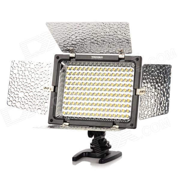 YONGNUO YN160 10W 800lm 5500K 160-LED Speedlite / Photoflood Lamp / Luminaire - Black