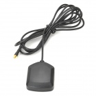 External GPS Gain Antenna w/ MCX Connector / Magnet - Black