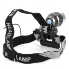 RUSTU D64 410lm 4-Mode White Bicycle Light Headlamp w/ Cree XM-L T6 - Grey + Silver (4 x 18650)